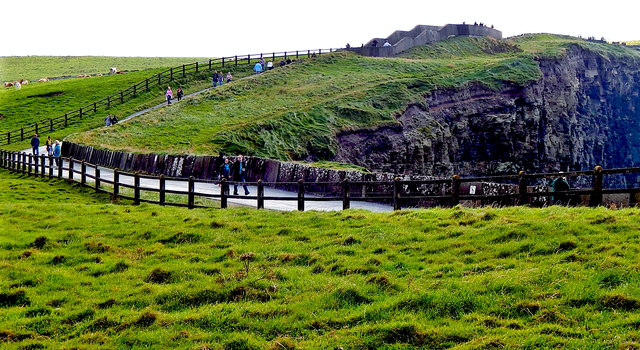 Cliffs of Moher walkway