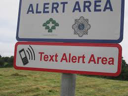 Garda text alert
