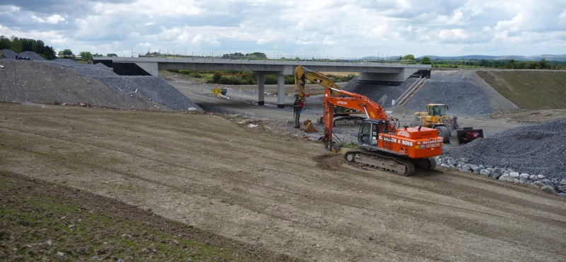 M18 motorway construction