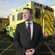 Joe Carey Ennis hospital ambulance