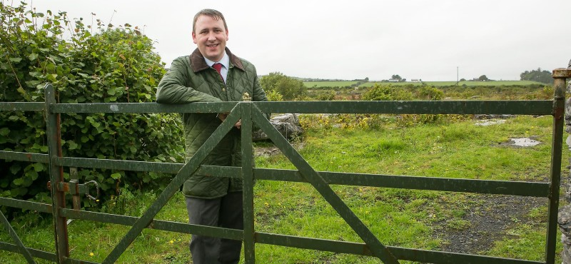 Joe Carey farm grants Fine Gael