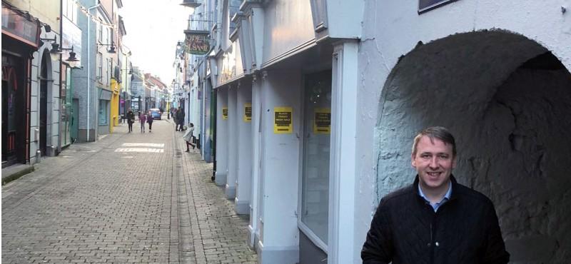 Joe Carey in Parnell Street