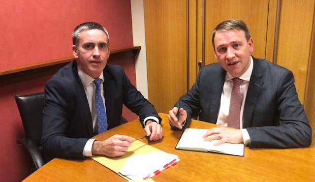 Minister Damien English & Deputy Joe Carey