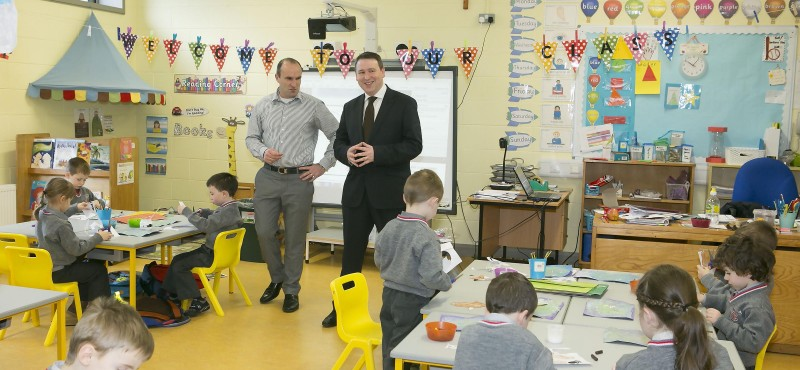 Joe Carey, Ennis national school